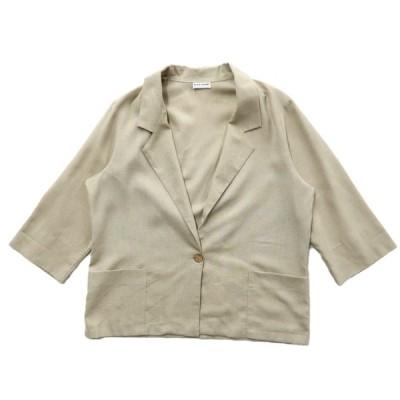 レディース USA製 イージージャケット テーラードジャケット サイズ表記:--