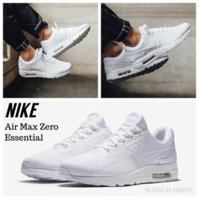 ナイキ エアマックス ゼロ ナイキ スニーカー メンズ Nike Air Max Zero Essential ホワイト 海外限定・正規品