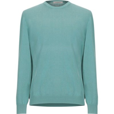 ラ フィレリア LA FILERIA メンズ ニット・セーター トップス sweater Light green