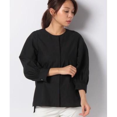 ANAYI/アナイ タイプライタークルーネックシャツ ブラック5 38