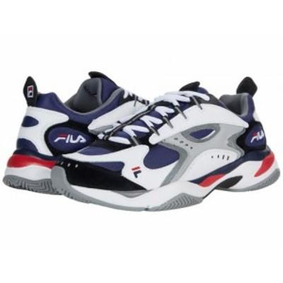 Fila フィラ メンズ 男性用 シューズ 靴 スニーカー 運動靴 Boveasorus Fila Navy/White/Monument【送料無料】