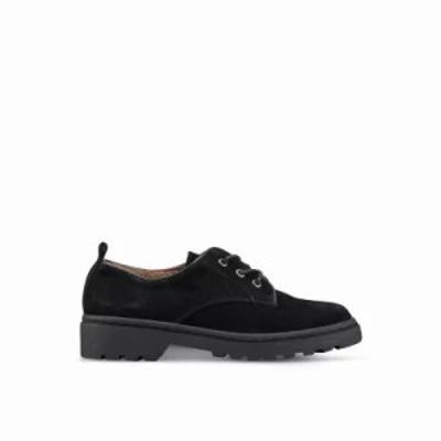 トップショップ ローファー・オックスフォード Fire Lace Up Shoes Black