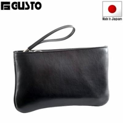 セカンドバッグ セカンドポーチ ビジネスバッグ 日本製 豊岡製鞄 メンズ 合皮 バッグインバッグ 黒 #25588 G-ガスト G-GUSTO  hira39