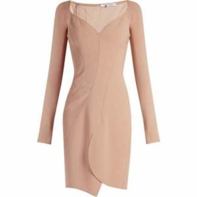 ジバンシー Givenchy レディース ワンピース ワンピース・ドレス Sweetheart-neckline crepe dress Nude