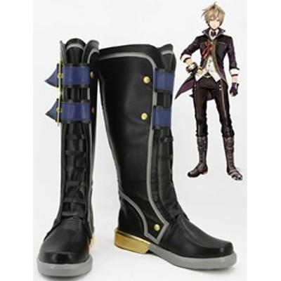 Gargamel  コスプレ靴 GOD EATER2 ゴッドイーター2 Julius Visconti コスプレブーツ オーダーサイズ製作可能m2772