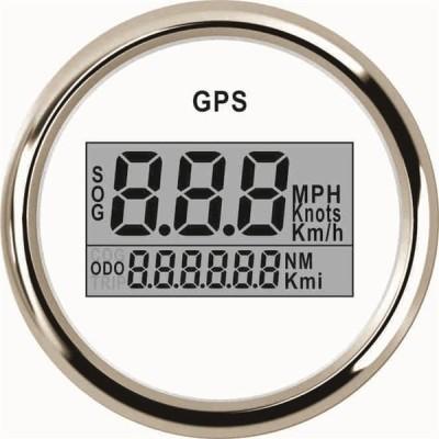 デジタルカースピードメーター gps 走行距離計液晶 メーター付き オートバイ 車 マリン WS-52mm