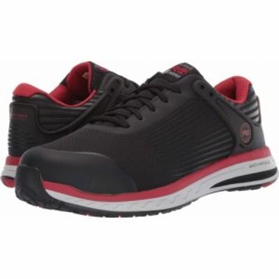 ティンバーランド Timberland PRO メンズ シューズ・靴 Drivetrain Composite Safety Toe Black/Red