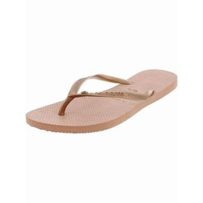 Havaianas ハワイアナス ファッション サンダル Havaianas Womens Slim Crystal Glamour Sw Rubber Sandal