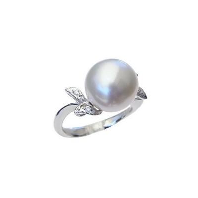 パール 指輪 真珠 リング 真珠 指輪 南洋白蝶真珠 12mm プラチナ pt900 アクセサリー ジュエリー 記念日 フォーマル プレゼント ギフト 人気