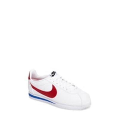 ナイキ スニーカー シューズ レディース Classic Cortez Sneaker White/ Varsity Red