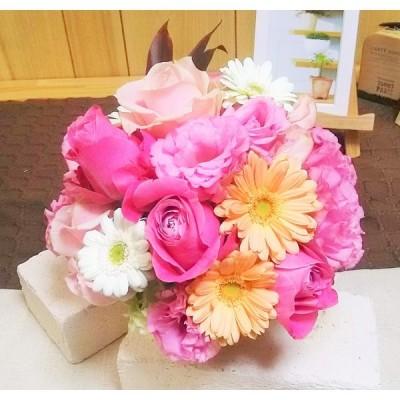 フローリストにおまかせフラワーアレンジメント お誕生日 御祝 記念日 送別 ホワイトデー 卒業 入学 母の日 敬老の日に