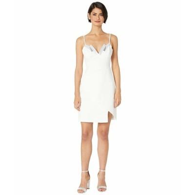 ビーシービージーマックスアズリア ワンピース トップス レディース Sequin Detail Cocktail Dress Off-White