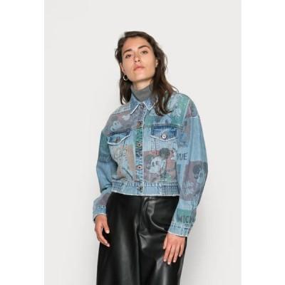 デシグアル レディース ファッション CHAQ INDIA MICKEY - Denim jacket - blue