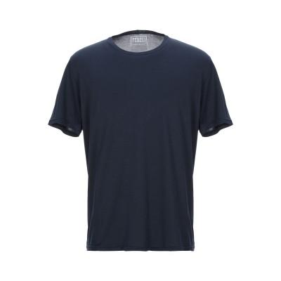 FEDELI T シャツ ダークブルー 44 コットン 100% T シャツ