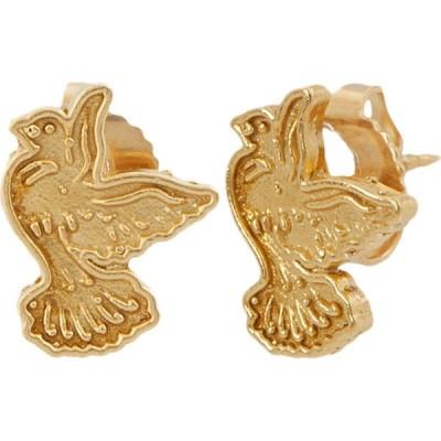 アレックス アンド アニ Alex and Ani レディース イヤリング・ピアス ジュエリー・アクセサリー Dove Post Earrings - Precious Metal 14KT Gold Plated