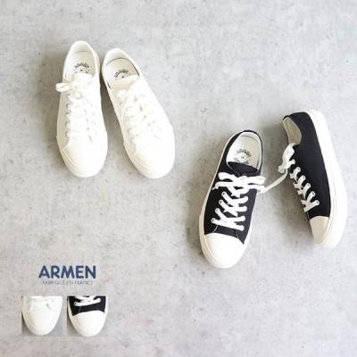 【ゆうパケット不可】ARMEN(アーメン)キャンバスローカットスニーカー_