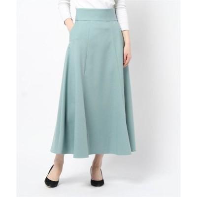 スカート フランネルマーメイドフレアスカート