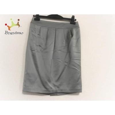 ピンキー&ダイアン Pinky&Dianne スカート サイズ36 S レディース 美品 グレー           スペシャル特価 20200504