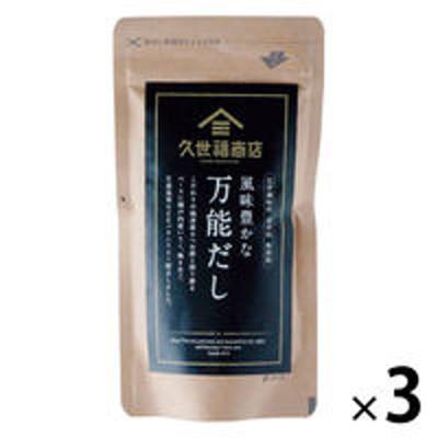 サンクゼール【3個セット】久世福商店 風味豊かな万能だし 40g(8g×5包入)