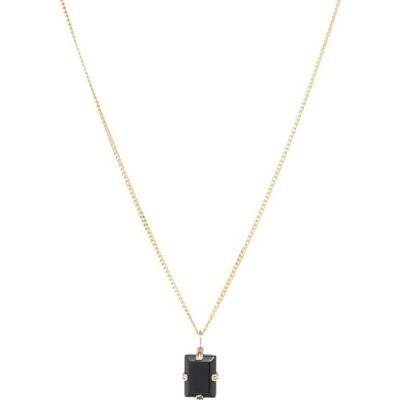 ミアンサイ Miansai メンズ ネックレス ジュエリー・アクセサリー Lennox Pendant Necklace Gold/Black