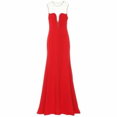 ステラ マッカートニー Stella McCartney レディース パーティードレス ワンピース・ドレス Sleeveless crepe gown Red Romance