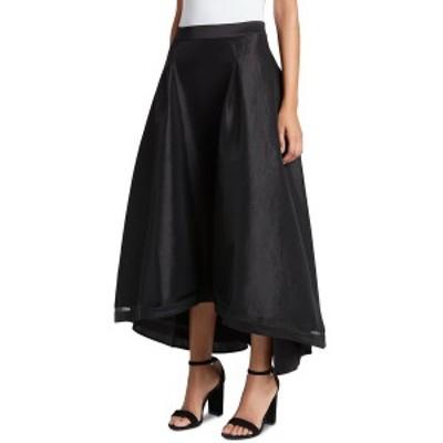 タハリエーエスエル  レディース スカート ボトムス High-Low Taffeta Skirt Black