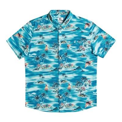 セール SALE セール SALE クイックシルバー QUIKSILVER  ISLAND HOPPER SS Mens Shirts