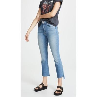 【残り1点!】【サイズ:28】マザー Mother レディース ボトムス・パンツ ジーンズ・デニム MOTHER Insider Crop Step Fray Jeans Shoot to Thrill