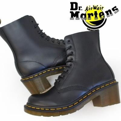 ドクターマーチン Dr.Martens クレメンシー レディース ブーツ 14638003 ブラック 8ホール ショートブーツ レースアップ
