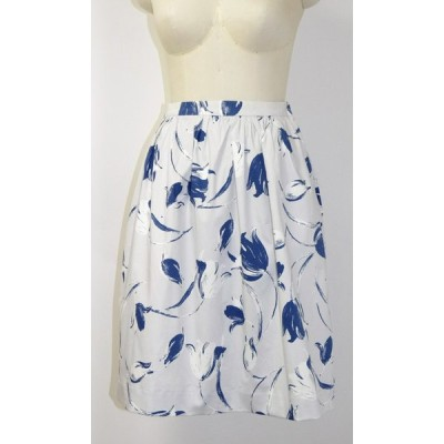 Skirt With Blue Tulip 2
