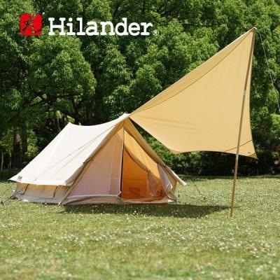 テント ハイランダー テント アルネス+タープ トラピゾイド スタートパッケージ