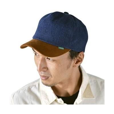 nakota ナコタ ショートトリップデニムキャップ 【ワンウォッシュ】 帽子 BBキャップ ベースボールキャップ 大きいサイズ メンズ レディース