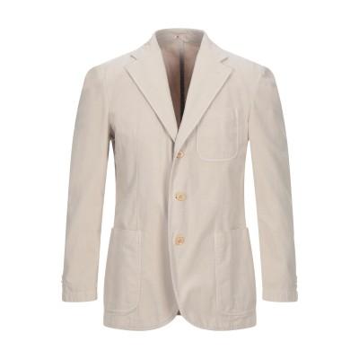 LUBIAM テーラードジャケット アイボリー 50 コットン 77% / リネン 23% テーラードジャケット