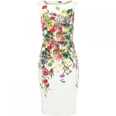 フェーズ エイト Phase Eight レディース ワンピース ワンピース・ドレス Cilla Meadow Print Dress Ivory Multi