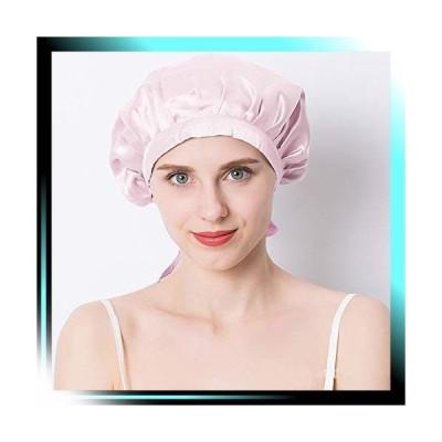 ピンク シルク ナイトキャップ 天然シルク100% シルクナイトキャ