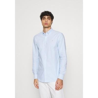 ファーラー シャツ メンズ トップス Shirt - sky blue