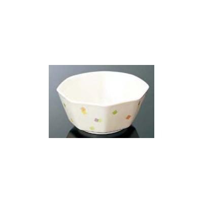 マルケイ メラミン食器 メロウブロック G47MB 八角小鉢 中 118×113×51(280ml)