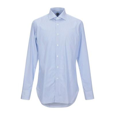 ALESSANDRO GHERARDI シャツ アジュールブルー 45 コットン 100% シャツ