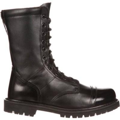 """ロッキー メンズ ブーツ・レインブーツ シューズ Rocky Men's Paraboot 10"""" Work Boots"""