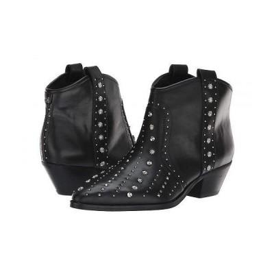 Sam Edelman サムエデルマン レディース 女性用 シューズ 靴 ブーツ アンクル ショートブーツ Brian - Black Modena Calf Leather