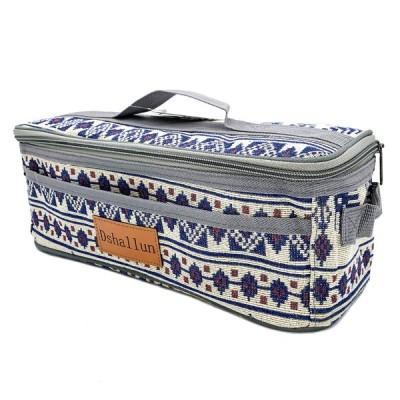 クッキングツール ボックス 調理器具 入れ 調味料ケース アウトドア 収納バッグ バーベキュー キャンプ キッチンツールボックス コンテナ - C