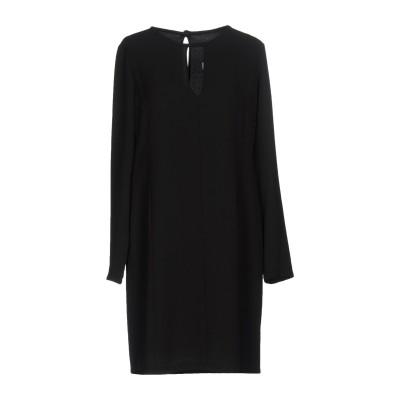 カオス KAOS ミニワンピース&ドレス ブラック 42 ポリエステル 98% / ポリウレタン 2% ミニワンピース&ドレス