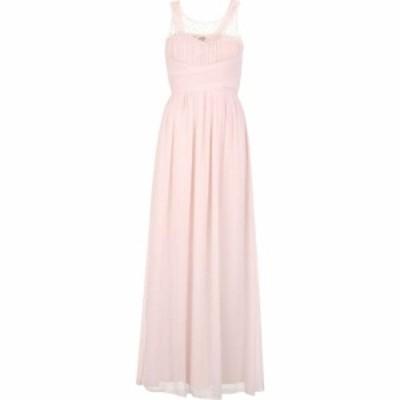 リトル ミストレス Little Mistress レディース ワンピース マキシ丈 ワンピース・ドレス Beaded top maxi dress Salmon Pink