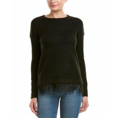 ファッション トップス Design History Fringe Trim Sweater