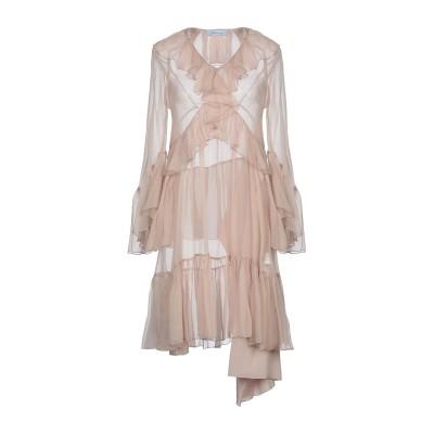 ブルマリン BLUMARINE ミニワンピース&ドレス ローズピンク 40 シルク 100% ミニワンピース&ドレス