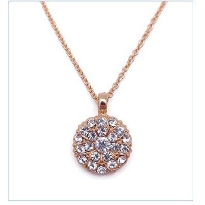 Mariana On a Clear Day Guardian Angel Clear Swarovski Crystal Goldtone Pendant Necklace 001001並行輸入品