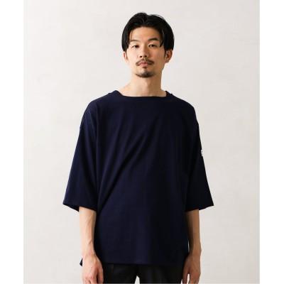 メンズ フォーワンセブン エディフィス 【MONT KEMMEL / モンケメル】別注ビッグバスクTシャツ ネイビー M
