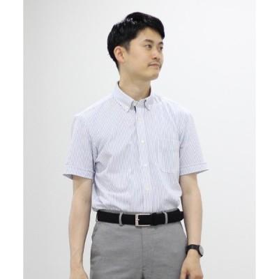 シャツ ブラウス DRY MASTER カノコ半袖ボタンダウンシャツ 19SS