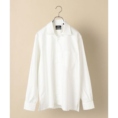シャツ ブラウス SHIPS×IKE BEHAR: アメリカ製 オックスフォード オープンカラー シャツ