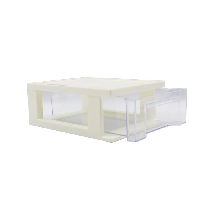 KEYWAY 好學抽屜收納盒/文具小物收納/白色